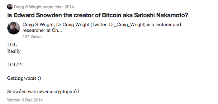 Craig Wright, The Man Who Claimed He Invented Bitcoin, Has Erased Himself