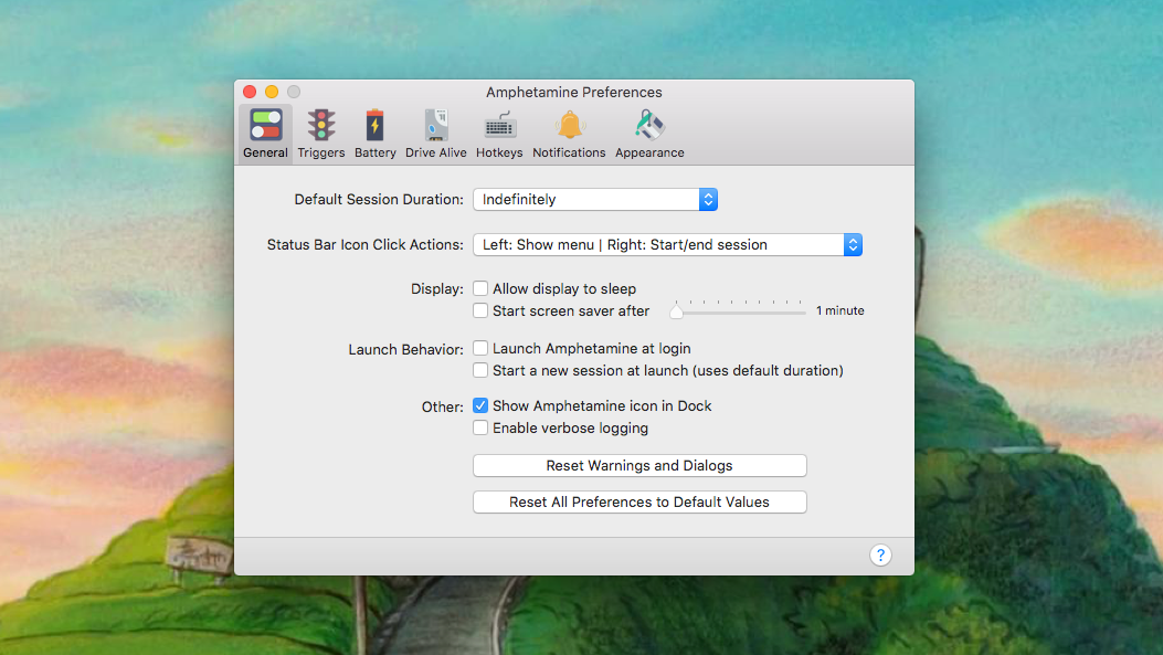 Manage Your Mac's Power Settings With Amphetamine