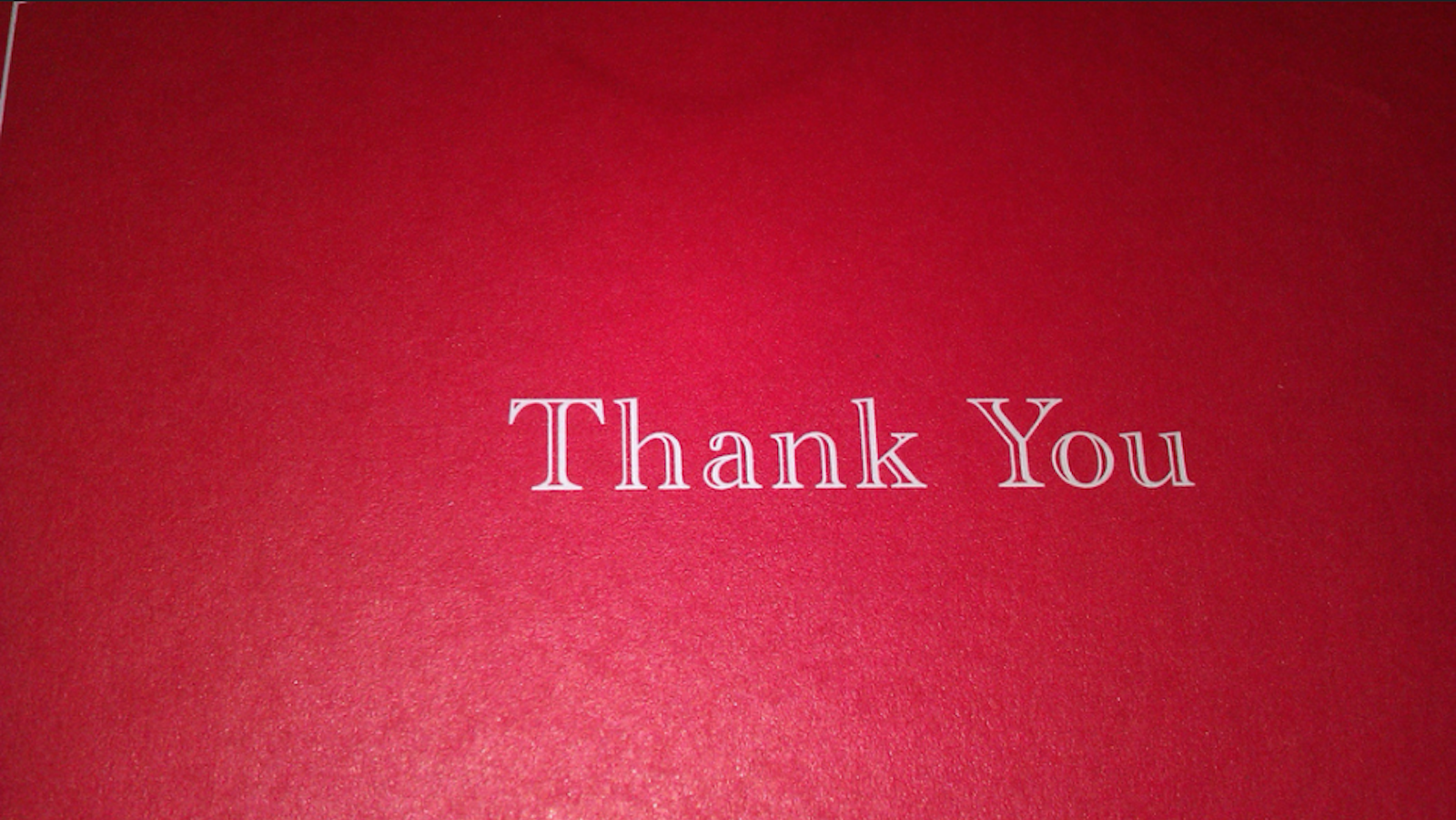 Give Your Friends The Gift Of 'No Thank You Notes'