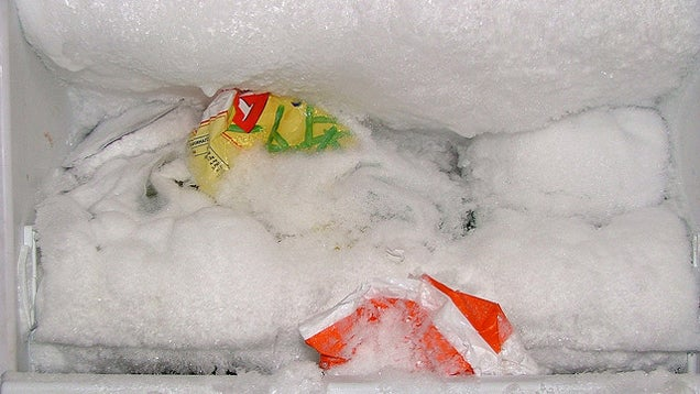 Defrost Your Freezer by Coating it with Cooking Oil