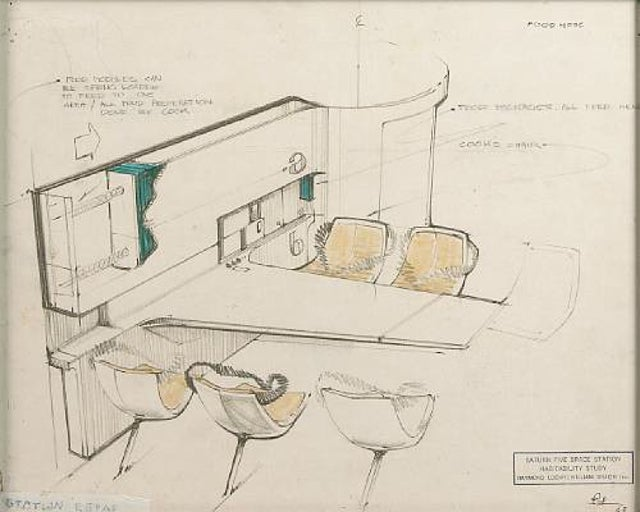 Raymond Loewy's NASA Designs Are The Space Future That Never Was