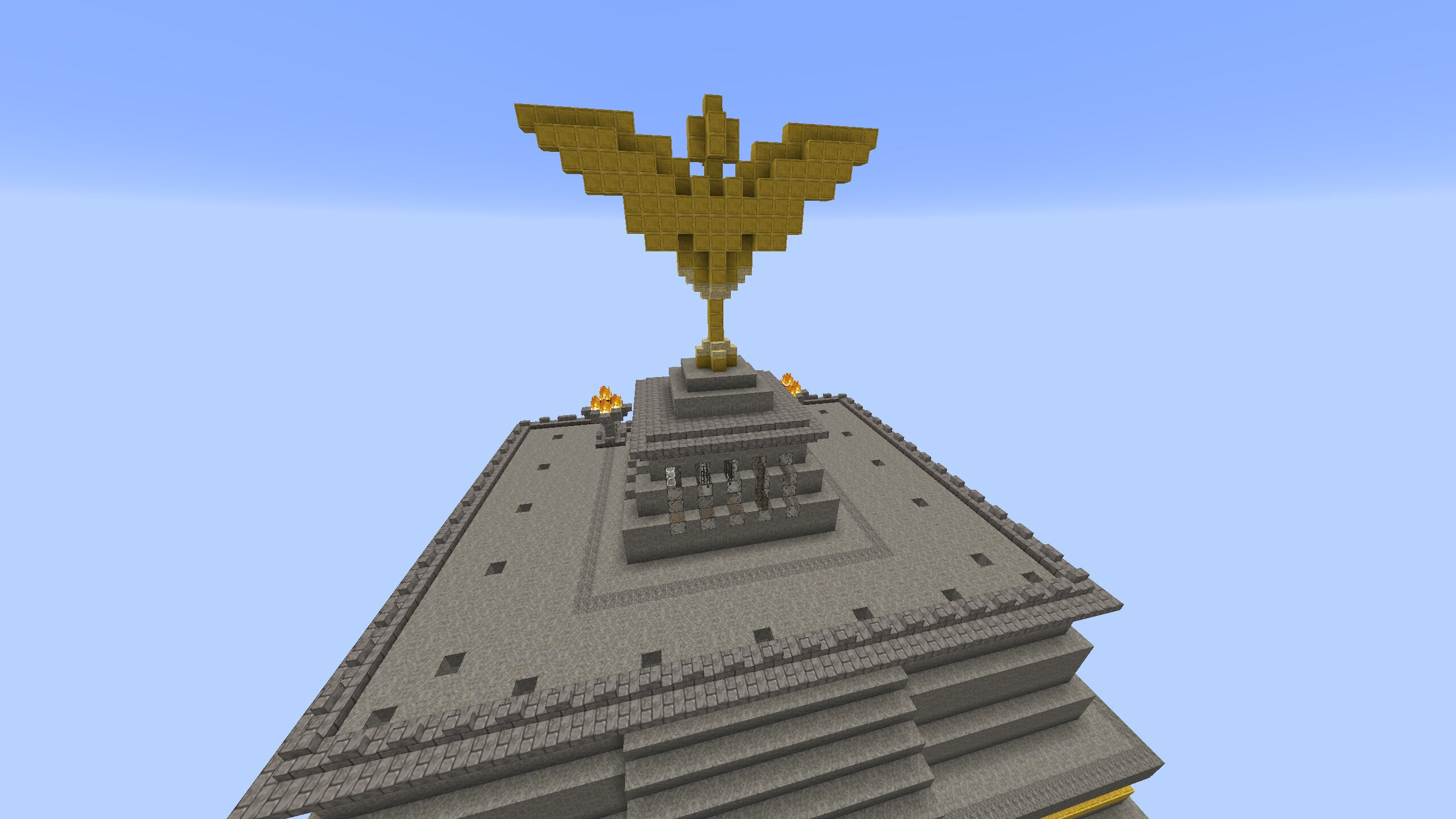 The Great Pyramid from Game of Thrones, Recreated in Minecraft