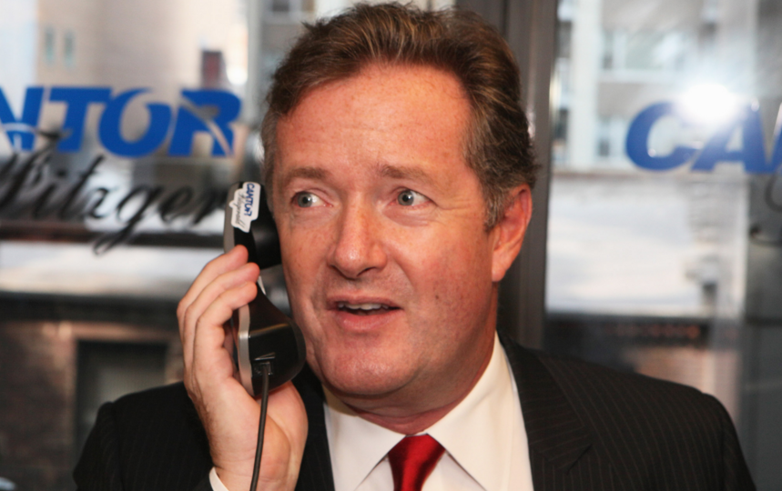 Piers Morgan Doesn't Really Seem to Understand How iPhones Work