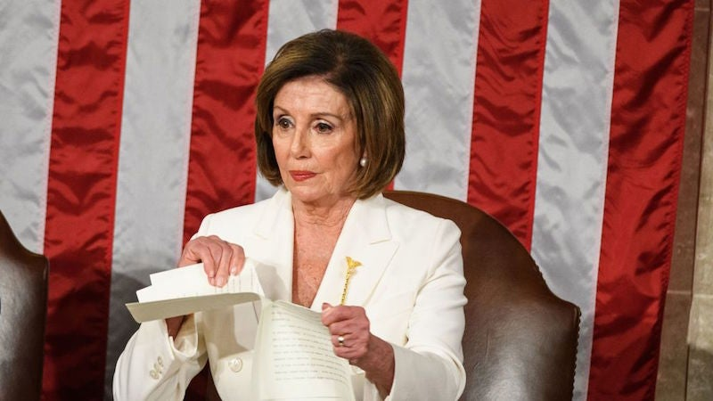 Facebook And Twitter Refuse To Take Down Donald Trump's Edited Nancy Pelosi Speech Ripping Video