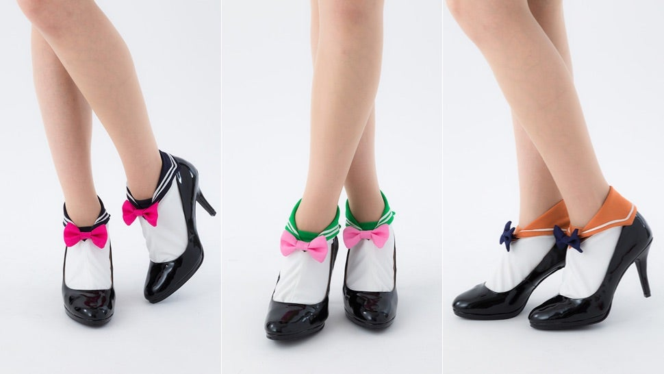 Sailor Moon Socks Are Exactly What You'd Hope