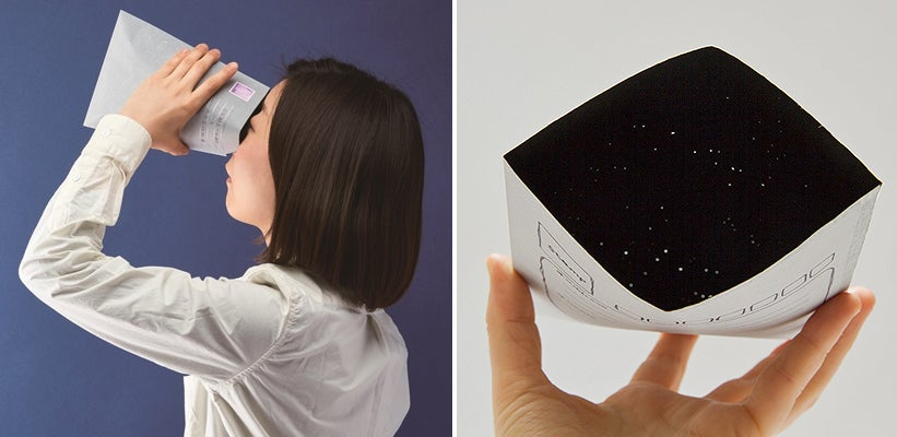 Mail Your Friends the Universe With an Envelope Full of Constellations