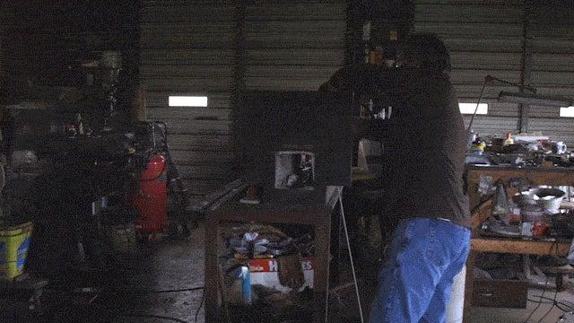 Inside the Fiery Workshop of a 21st Century Swordmaker