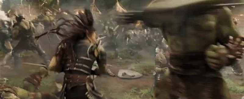 The Latest Warcraft Trailer Is All About the Orcish Action