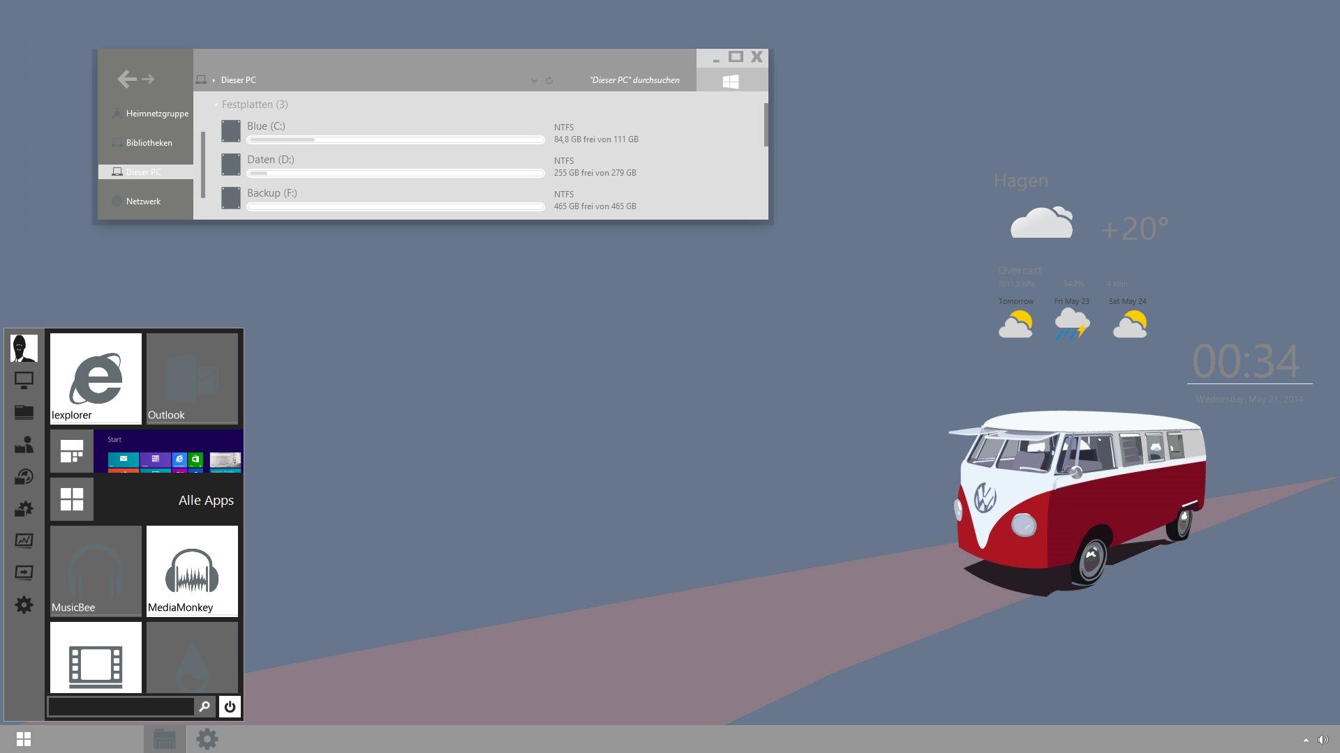 The Microbus Desktop