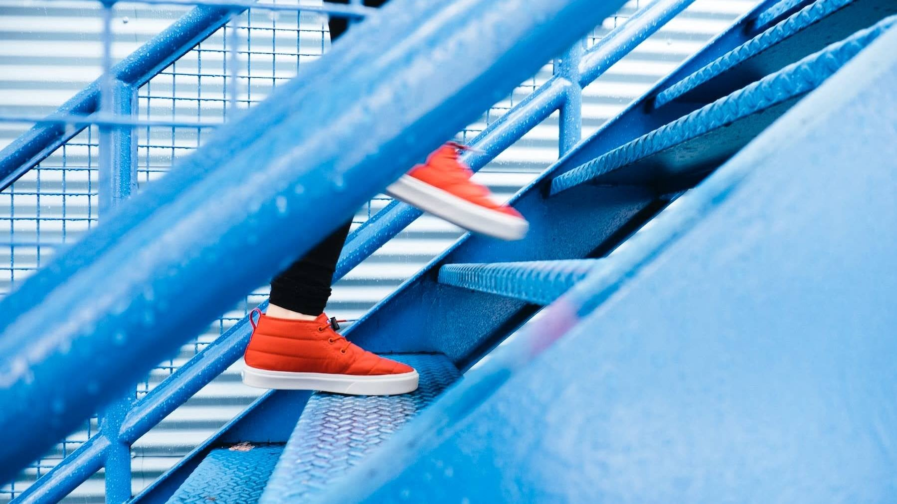 This Month's Fitness Challenge Theme Is Stairs