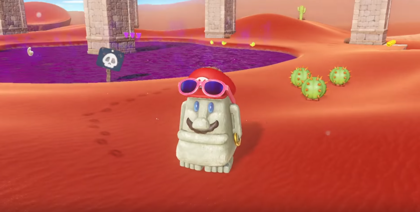 Super Mario Odyssey Co-Op Mode Demoed In New Footage