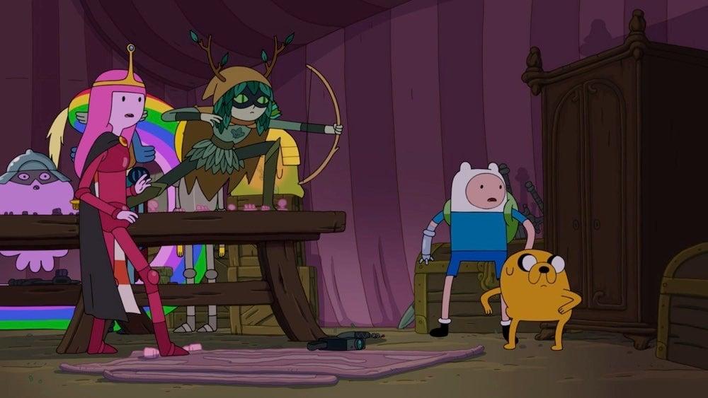 adventure time season 8 episode 9 five short tables