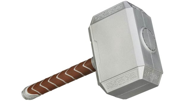 Great Odin's Raven! Nerf Made a Foam Version Of Thor's Mjölnir Hammer