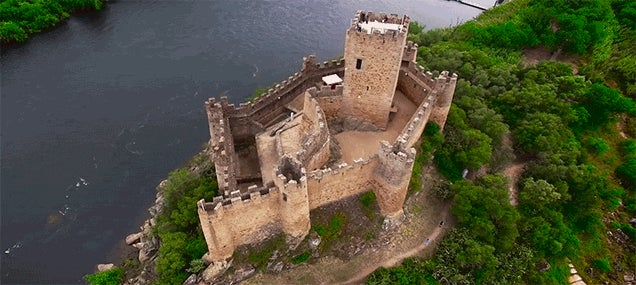 Watch This Magical Drone Footage of Castles Across Europe