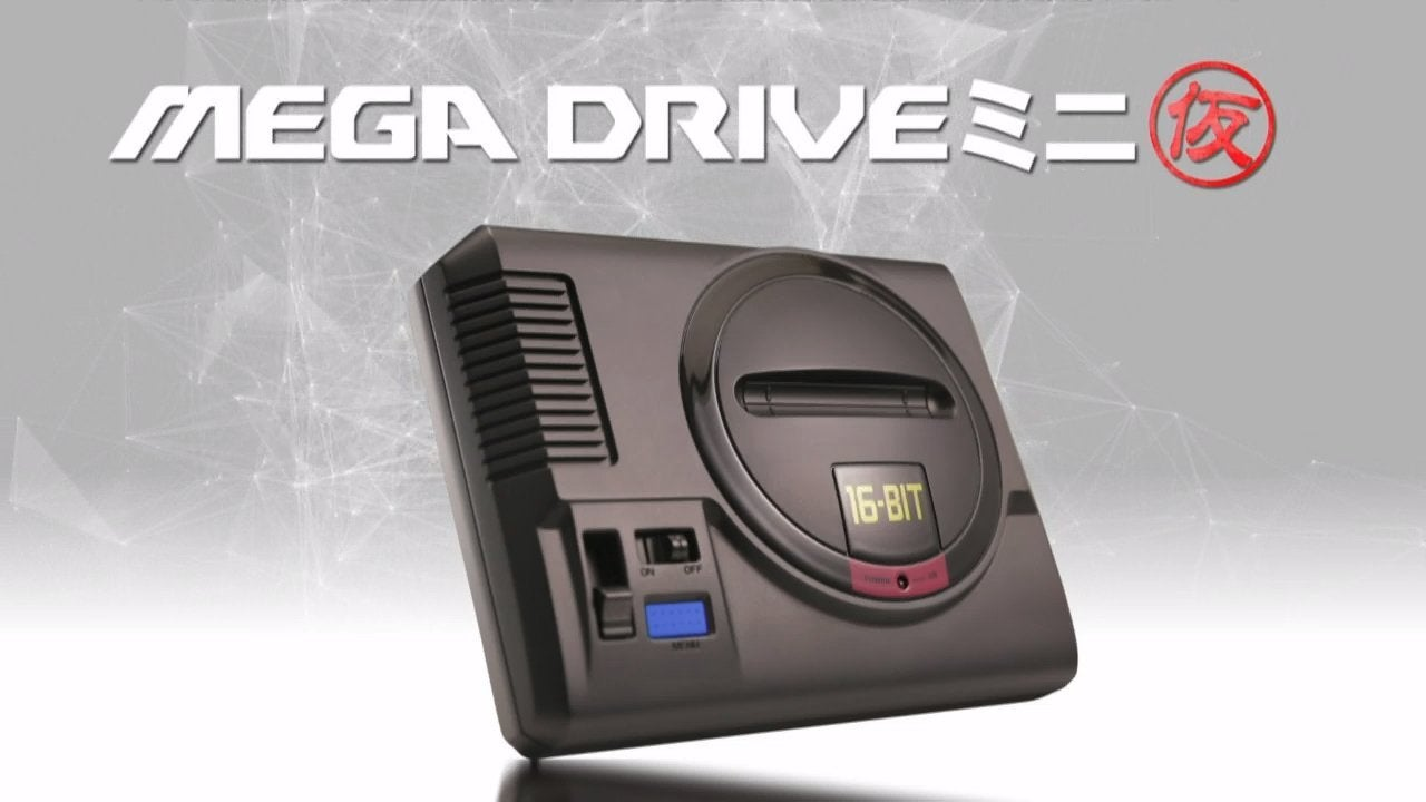Sega Announces A Mega Drive Mini