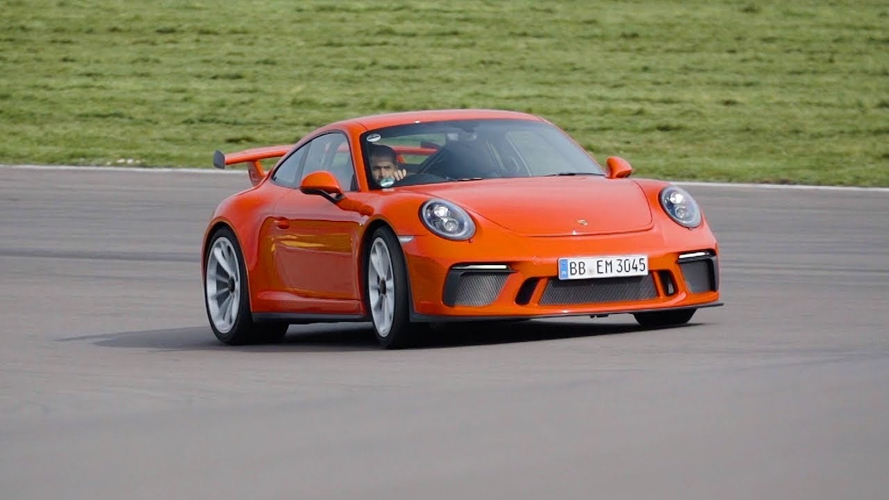The New Porsche 911 GT3 Is In A Class Of Its Own