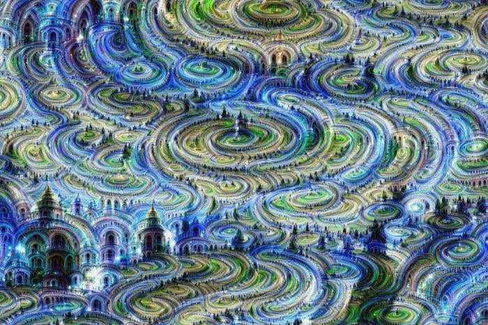 This Google Dream Bot-Inspired Artwork Is Mind Blowing