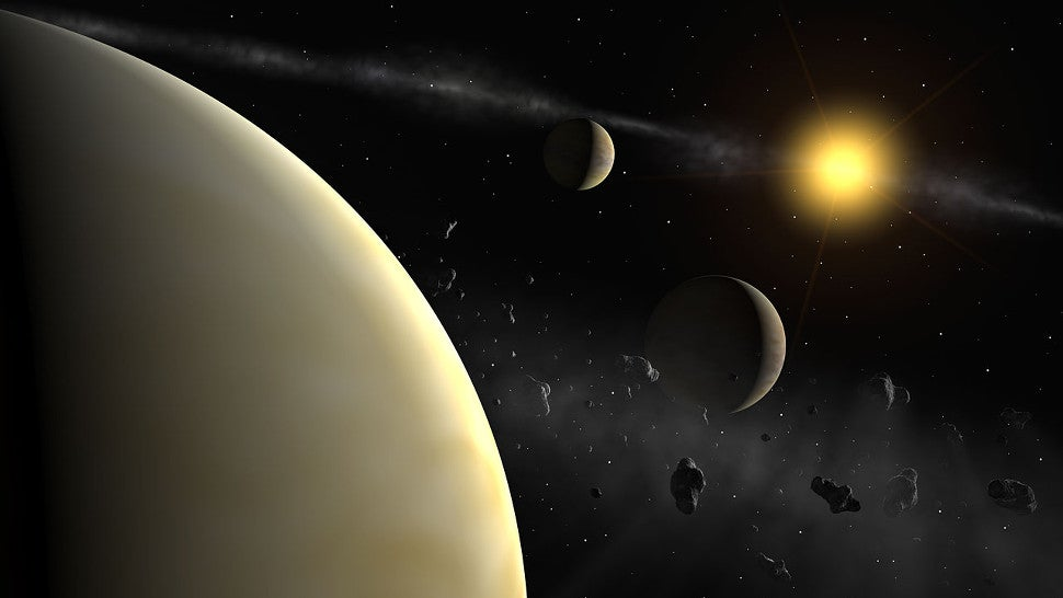 This Four-Planet System Features One of the Coolest Orbital Arrangements We've Ever Seen