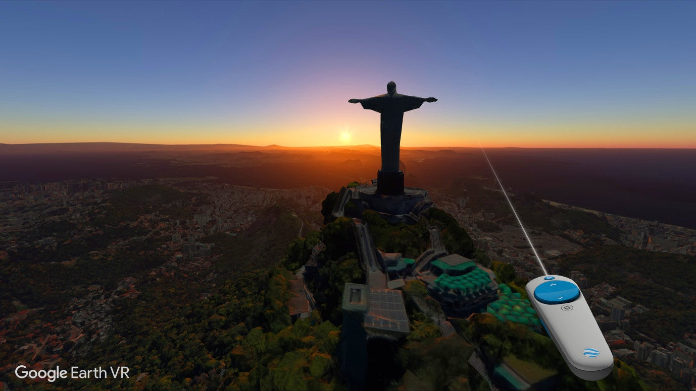 Google Earth VR Is Like Taking A Holiday That Gives You A Headache