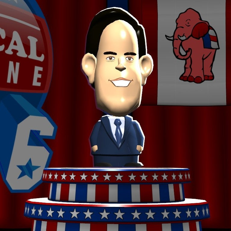 A Video Game's Stats For The 2016 Presidential Candidates