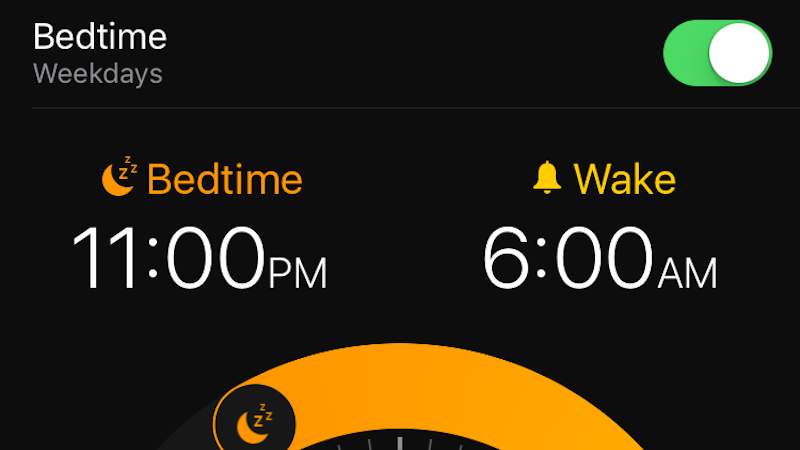 Use iOS 10's Bedtime Reminders To Try To Wrangle Your Sleep Habits