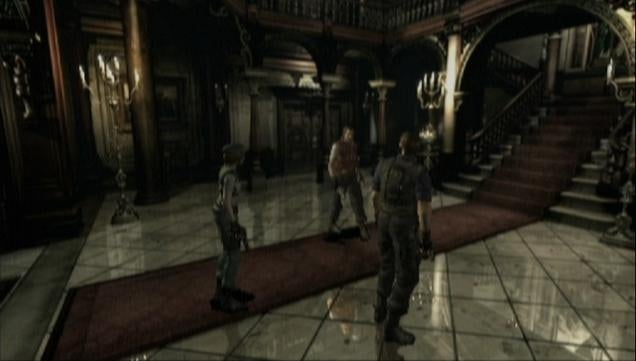 How Resident Evil HD Remaster Stacks Up Visually