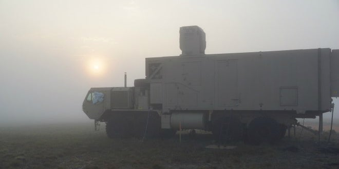 The Army's Laser War Truck Can Now See (and Shoot) Through Fog
