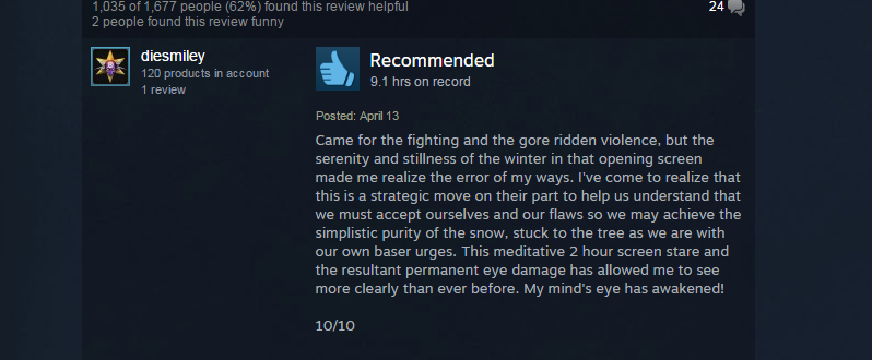 Mortal Kombat X, As Told By Steam Reviews