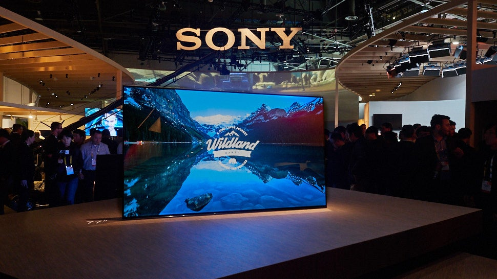 Sony's New OLED TV Is Both The Screen And The Speaker