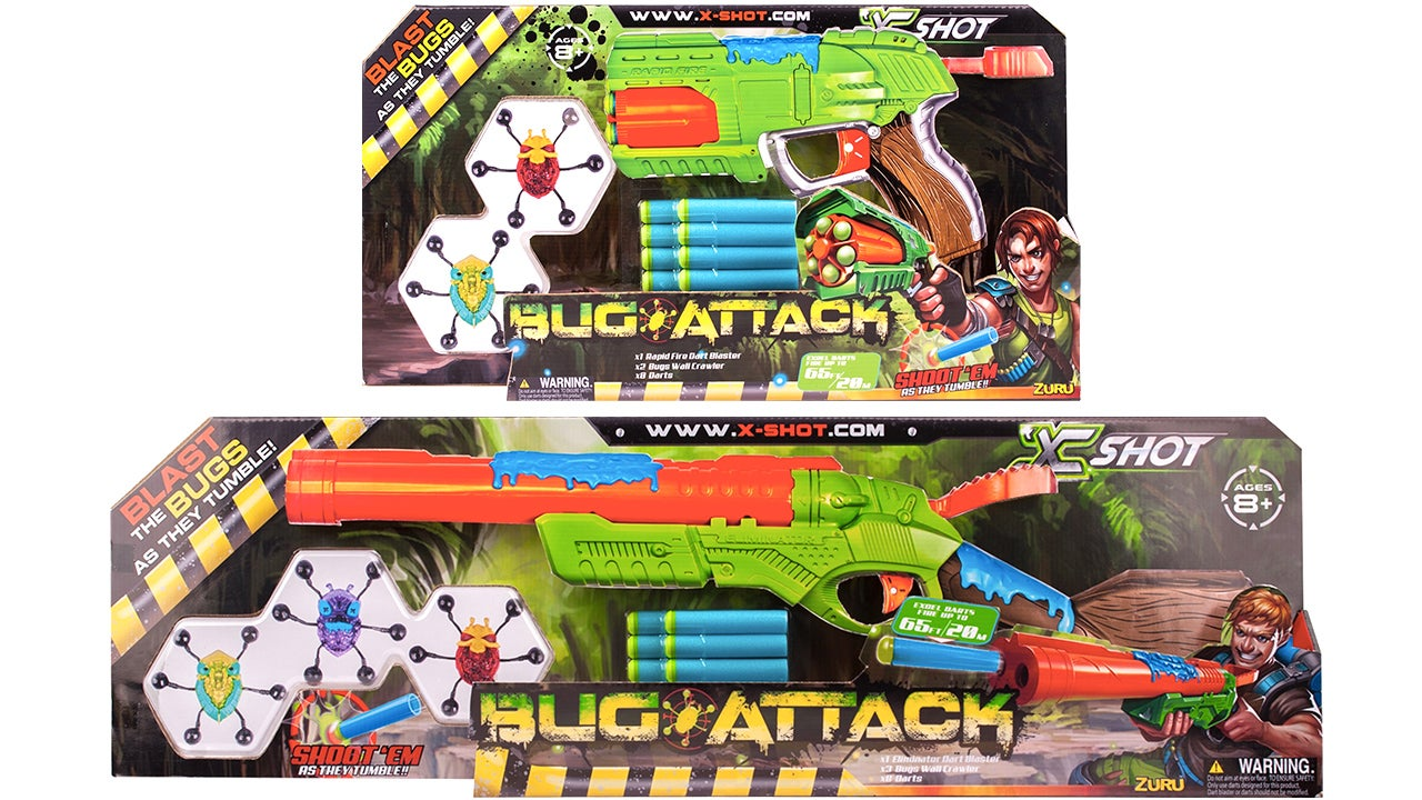 New X-Shot Blasters Have You Targeting Bugs, Not Your Co-Workers