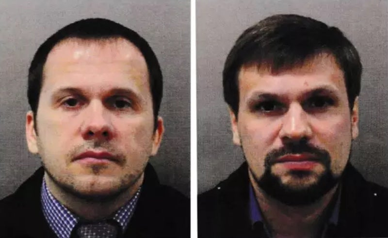 British Police Identify Two Russian Suspects In Novichok Poisoning Of Former Spy And Bystanders