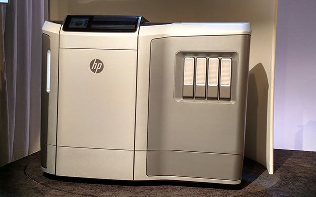 HP Just Launched Its Own Super-Fast 3D Printer