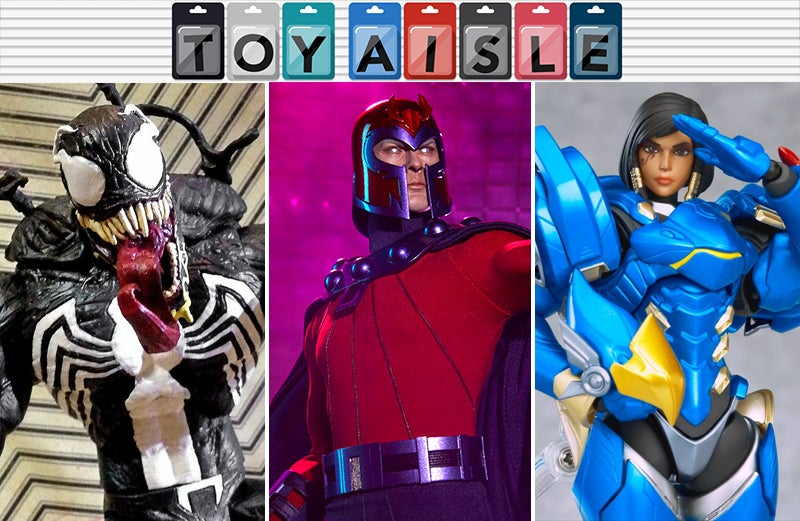 Magneto Gets A Gleaming New Figure, And More Of The Shiniest Toys Of The Week