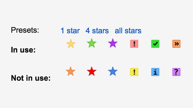 Add Extra Stars For Better Gmail Sorting