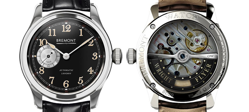 There's an Actual Piece of the Wright Flyer Inside Bremont's New Watch
