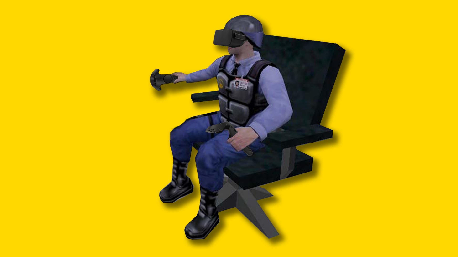Half-life: Alyx Is Still Good, Even While Sitting In A Chair