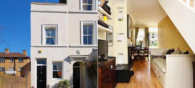 London's Narrowest House Is For Sale
