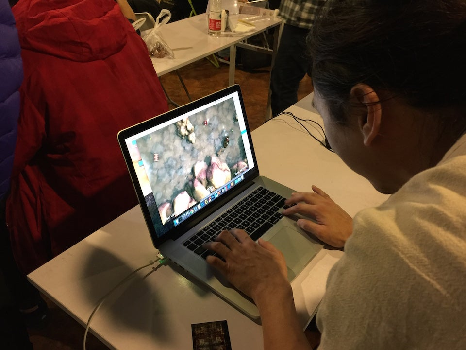 Four Creative (if Bizarre) Games from Global Game Jam Beijing