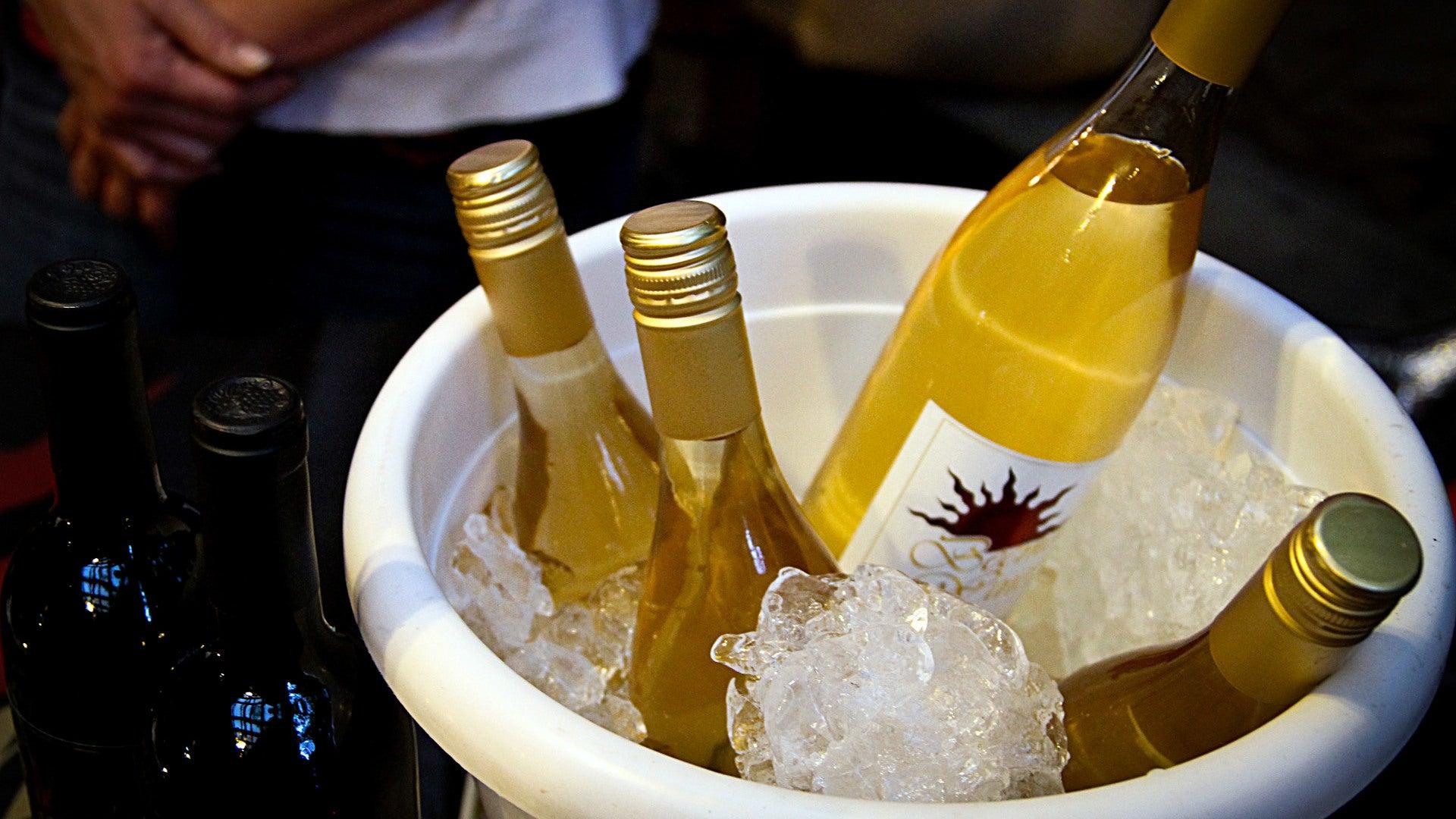 Serve Cheap White Wine Ice-Cold