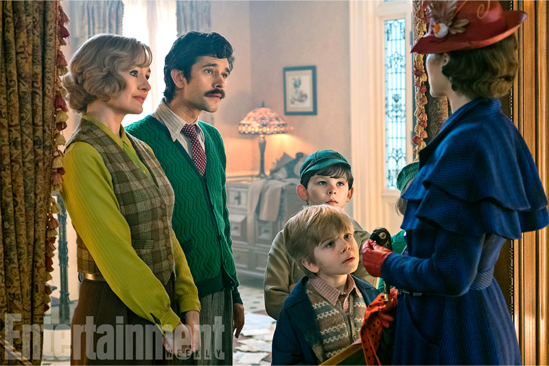 New Mary Poppins ReturnsImages Give Us A Look At The Original Kids, All Grown Up