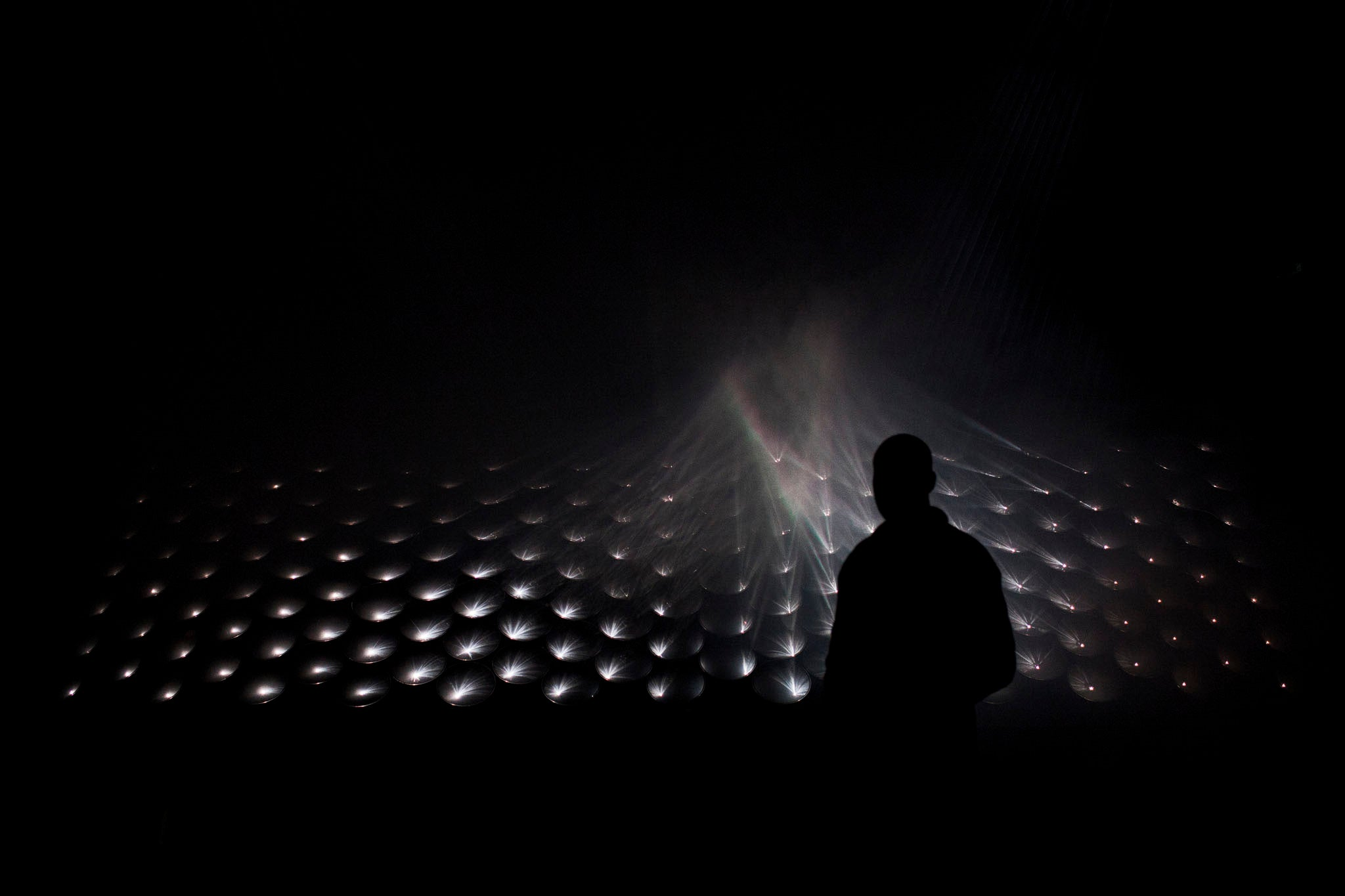 Watching This Moody Light Show Might Transport You To Another Dimension