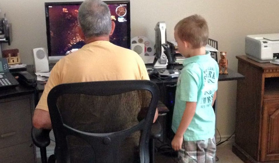 Dad Immortalised In His Favourite Game By Grieving Son