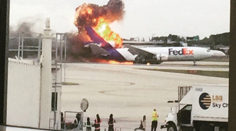 Second Plane Of The Day Explodes In Florida