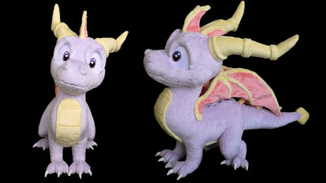 Spyro The Dragon In Adorable Plushie Form