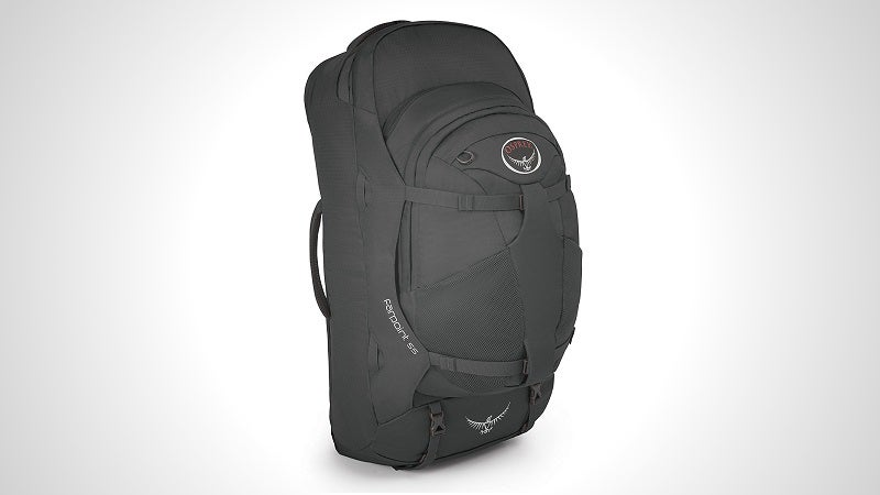 The Osprey Farpoint 55 Is The Perfect Backpack For Lightweight Travel
