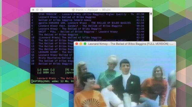 MPS-YouTube Is A Command Line YouTube Player And Downloader