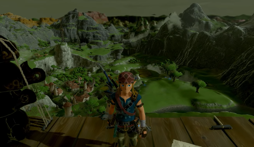 Legend Of Zelda: Breath Of The Wild Looks Weirdly Gritty Without Cel-Shading