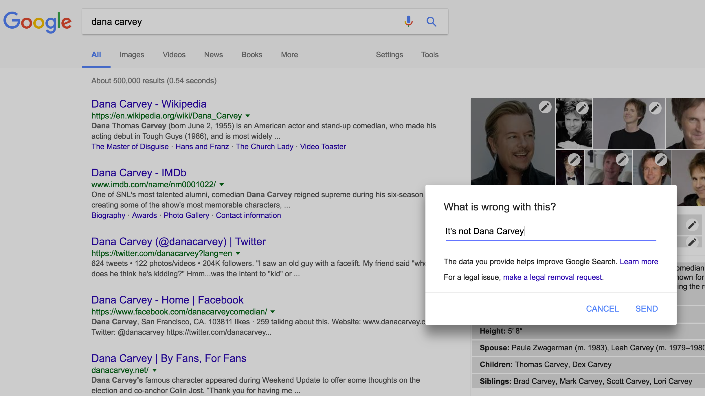 See An Incorrect Google Result? Here's How To FixIt