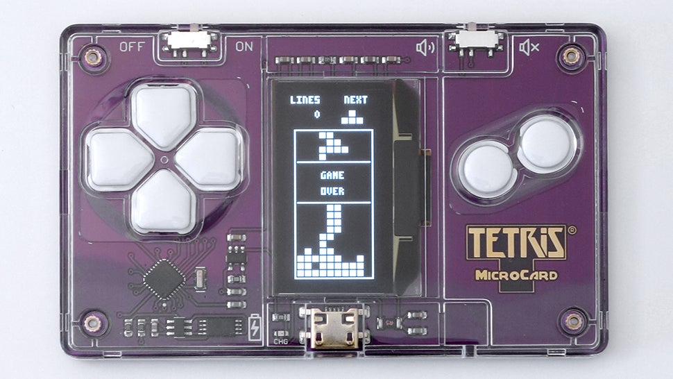 Playing tetris on a business card is everything i hoped it for Tetris business cards