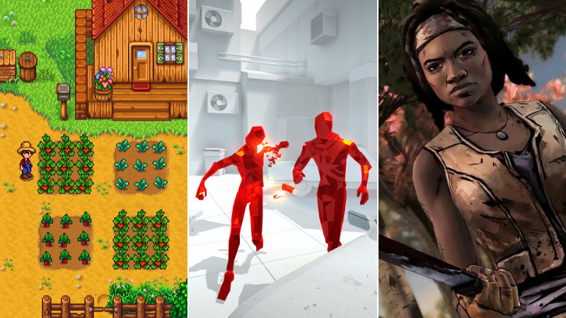 Our Favourite Games from February